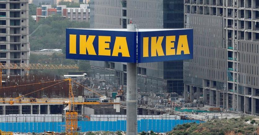 L'insegna del negozio Ikea di Hitec City, in India